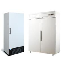 Низкотемпературные шкафы (-18...0) с глухой дверью