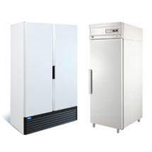 Среднетемпературные шкафы (0...+7) с глухой дверью
